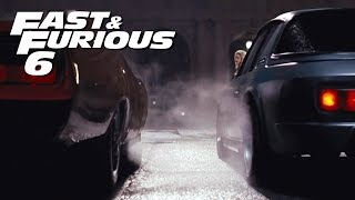 Dom vs Letty Race - FAST and FURIOUS 6 ( Daytona vs Interceptor) 1080p