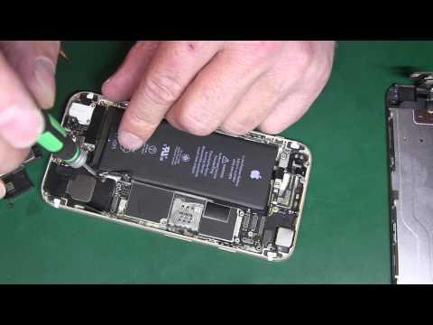 IPhone 6  хрипит нижний динамик