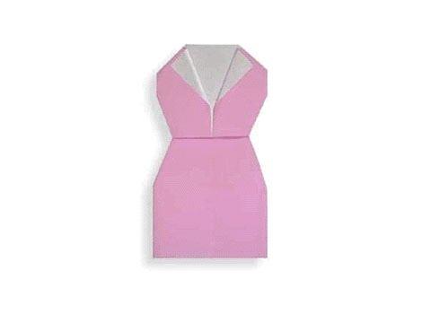 Cách gấp, xếp váy bó thân bằng giấy origami – Video hướng dẫn