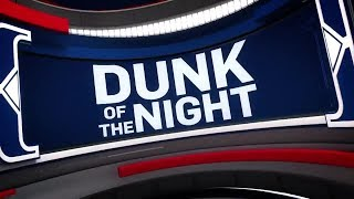 NBA Dunk of the Night  LeBron James  April 27,  2018