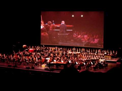 Joe Hisaishi au Palais Des Congrès - Piano - One Summer's Day - Le Voyage de Chihiro