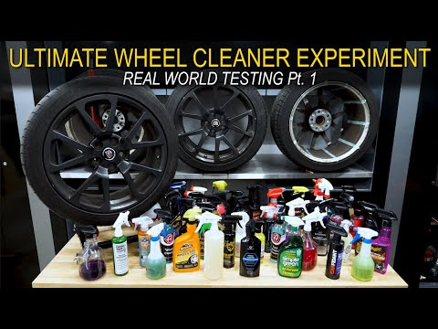 The Ultimate Wheel Cleaner Experiment: Real World Testing Pt.1