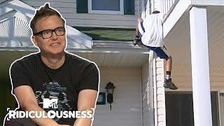 Mark Hoppus Broke Both Ankles The Day He Met Tom DeLonge | Ridiculousness