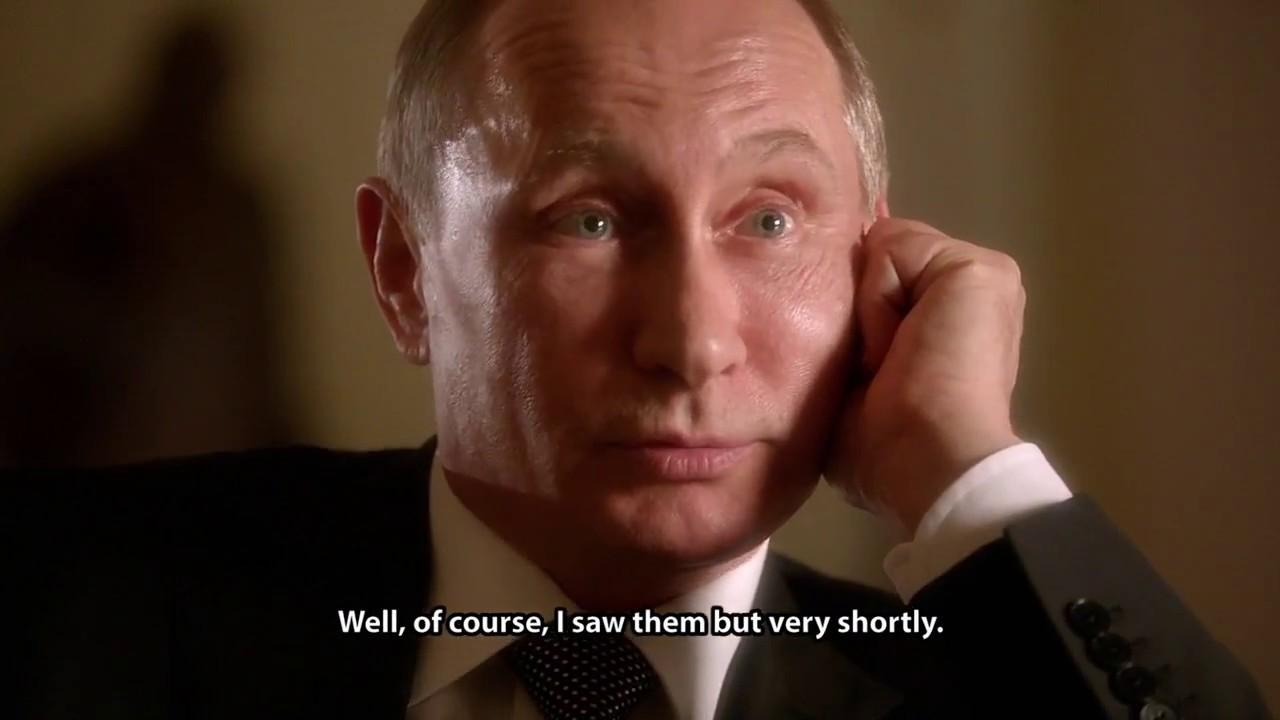 Фильм про Путина. Оливер Стоун. Часть 1 - YouTube
