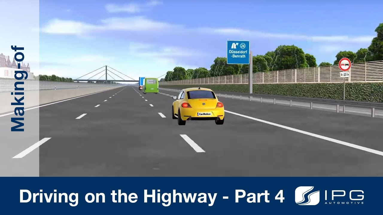 Making Of Carmaker Driving On The Highway Part 4 4