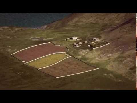 Ynys Enlli, mynachlog gynnar tua 1000 OC - Bardsey Island, early monastery circa 1000 AD