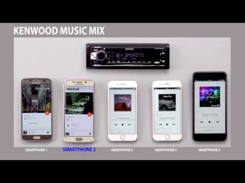 KENWOOD Music Mix for Bluetooth Audio Receivers (1-Din)