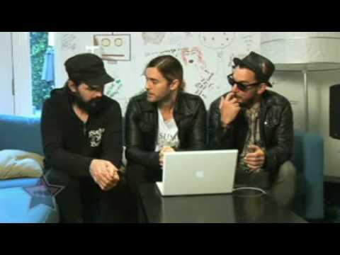 A Summary of  the 30 Seconds to Mars VideoChat [MySpace Celebrity]