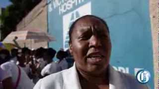 Nurses at KPH protest