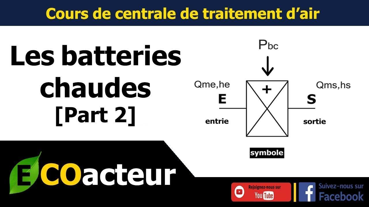 CTA - Dimensionnement de la batterie chaude [part 2] - YouTube