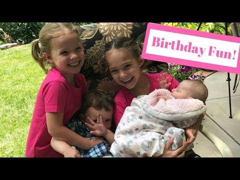 Cousin's Sesame Street Birthday Party!