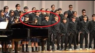 【涙腺崩壊】高校の合唱祭で全員がサングラス姿で登壇。その行動の理由とは一体…。 thumbnail