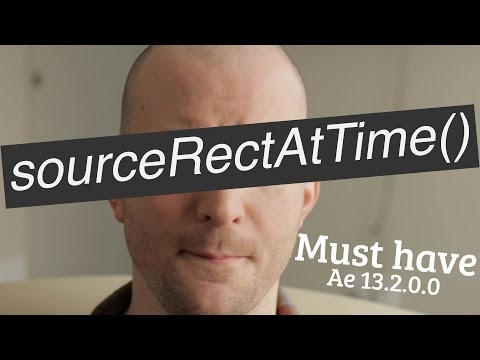 SourceRectAtTime() Expression- Adobe After Effects tutorial
