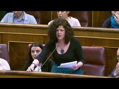 Sofía Castañón pregunta a la ministra de Empleo qué medidas va a tomar tras la huelga feminista