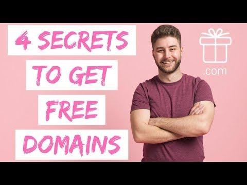 HOW TO GET A FREE DOMAIN NAME 2020 💸 4 SECRET WAYS!