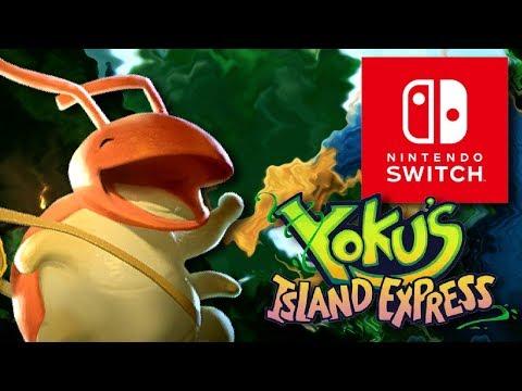 Pinball Metroidvania! - Yoku's Island Express - Nintendo Switch