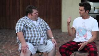 Awkward fan surprises p90x creator Tony Horton at home