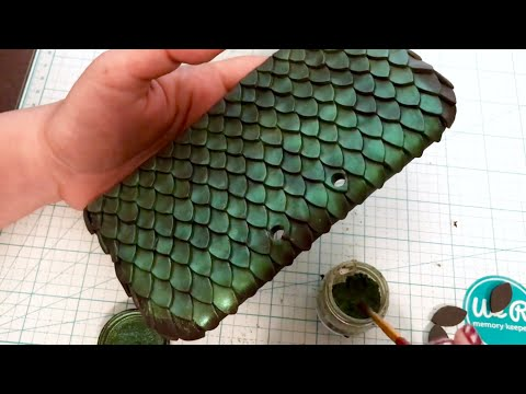 How to customize your NEW 3DS XL  - DIY  Polymer clay Dragon Scales Case!! Sculpey