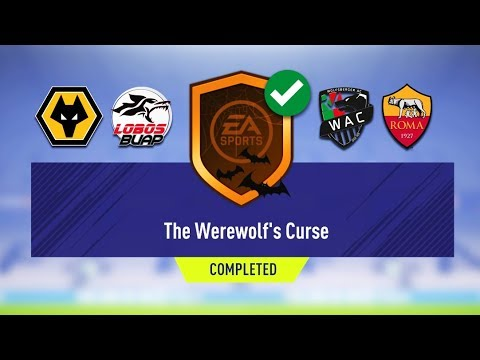 THE WEREWOLF'S CURSE SBC COMPLETED!! - CHEAPEST METHOD! FIFA 18