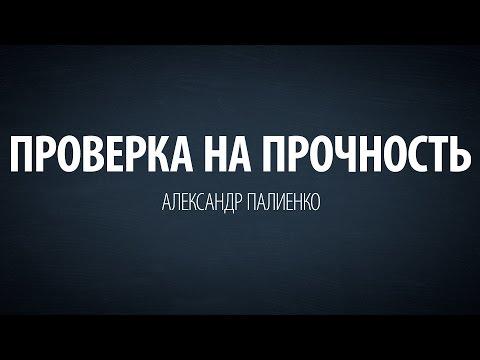 Проверка на прочность. Александр Палиенко.