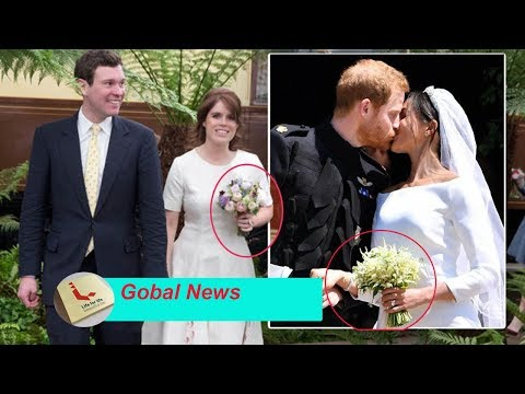Princess Eugenie is not happy with Meghan Markle & Kate Middleton's flower bouquets