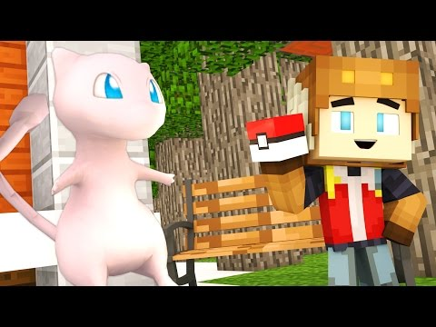 CATCHING MEW IN POKEMON GO! (Minecraft Roleplay)
