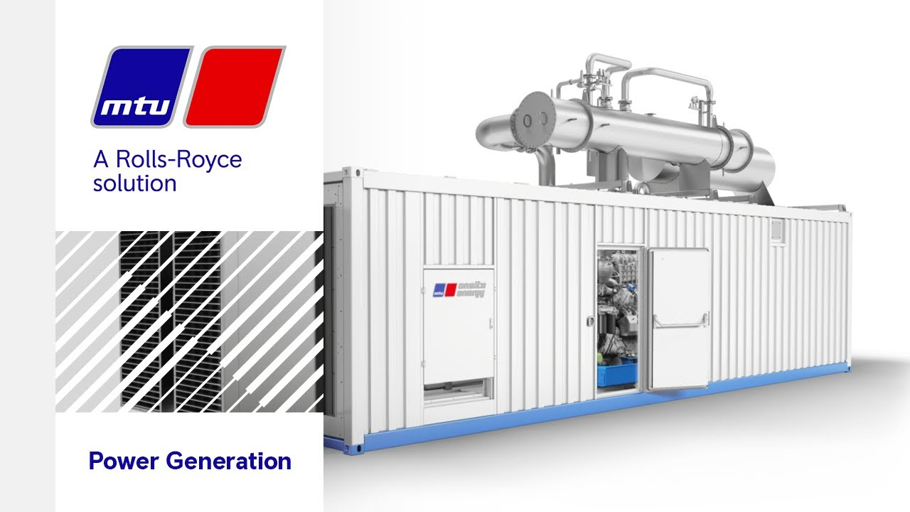 The New Natural Gas-Powered Series 4000 L64 By MTU Onsite Energy