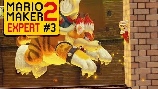 Super Mario Maker 2 - Expert Endless Challenge #3 - Cat & Mouse Chase!