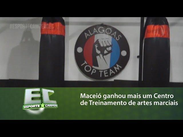 Maceió ganhou mais um Centro de Treinamento de artes marciais