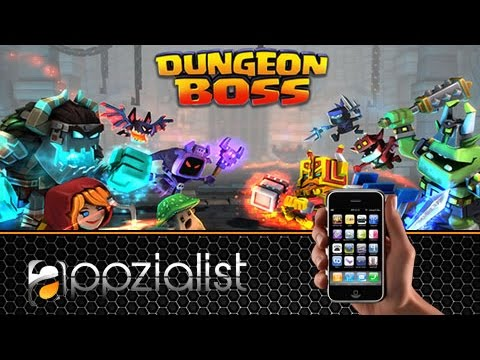 Dungeon Boss - Android IOS IPad IPhone App (By Big Fish Games, Inc) Gameplay [HD+] #04