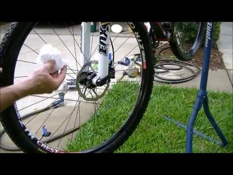 How to clean a bicycle in about 15 minutes--Part 2