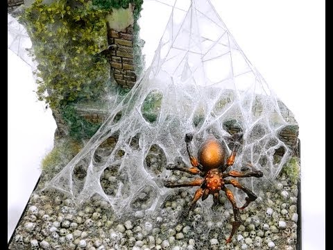 Spider Serum - Video tutorial of the construction of a giant spider web