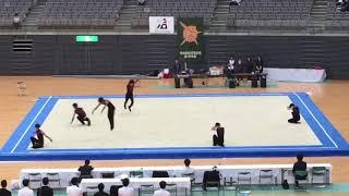 男子新体操団体.