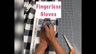 Easy to sew gloves