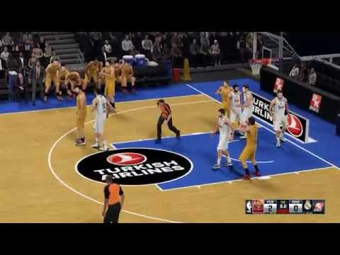 NBA 2K16 - FC Barcelona Lassa vs. Real Madrid - 동영상