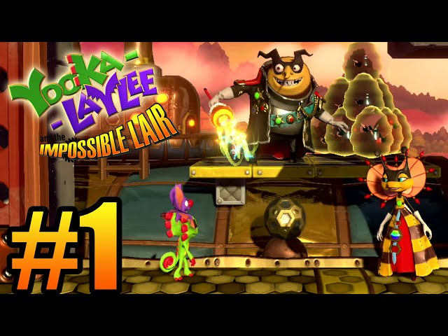 Yooka-Laylee and the Impossible Lair (видео)