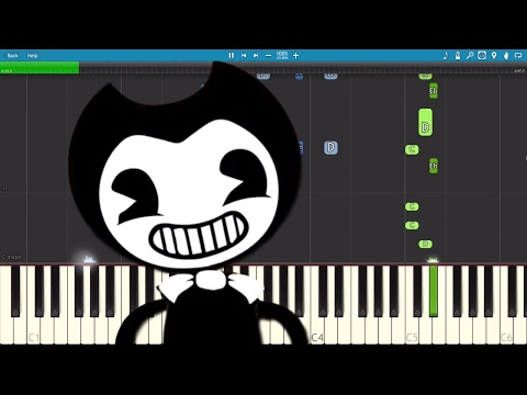 Bendy and the Ink Machine Song - Shade Me - Piano Tutorial - Rockit Gaming