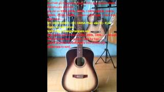 Đàn Guitar được làm bằng gỗ thông, hồng đào, ván ép, cẩm lai, mun, điệp, cong, coong có giá từ 390k