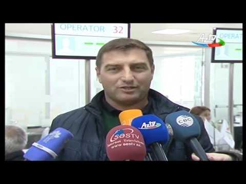 """1 Saylı """"ASAN Kommunal"""" Mərkəzi Fəaliyyətə Başladı - AzTV 07.01.2017"""