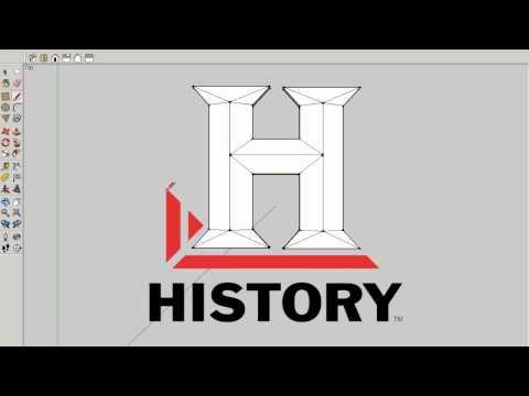 logo history channel en sketchup