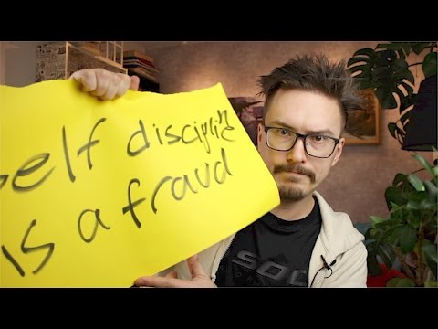 Self-discipline is a fraud - MPJs Musings - Fun Fun Function