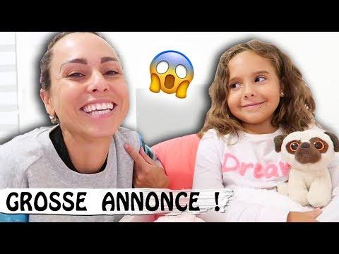 GROSSE ANNONCE : Je dévoile mon secret / Family vlog