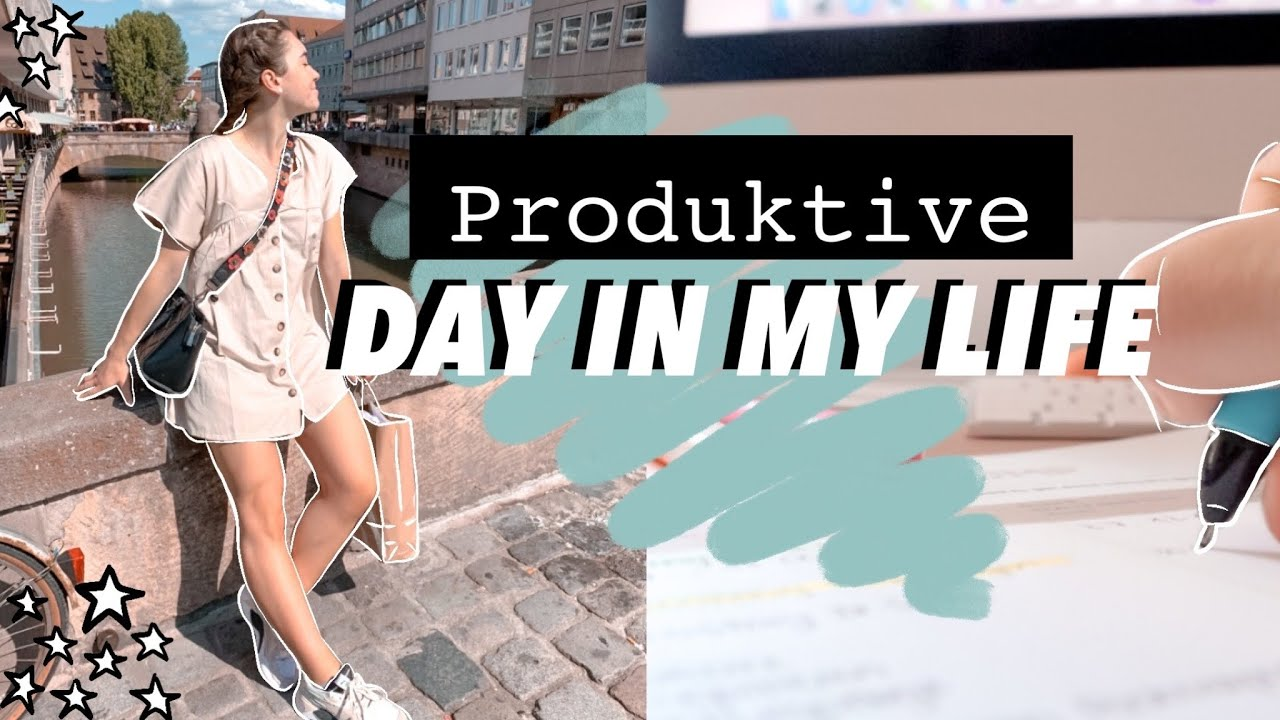 A PRODUCTIVE DAY in my LIFE // Sophie Hobelsberger
