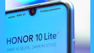 Honor 10 Lite - Polska premiera.