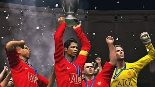 PES 2009 - Barcelona vs Man United | Final UEFA Champions League | HD 60FPS
