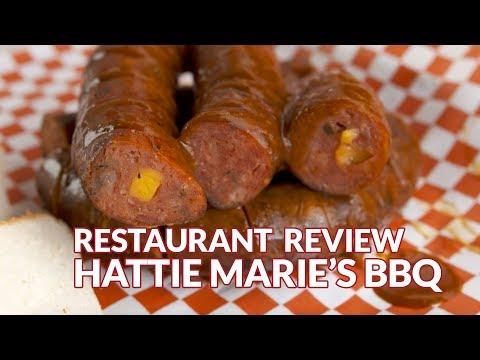 Restaurant Review - Hattie Maries BBQ | Atlanta Eats
