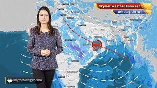 Weather Forecast for August 8: Rain in Delhi, Kolkata, Mumbai, Hyderabad, heavy in Odisha