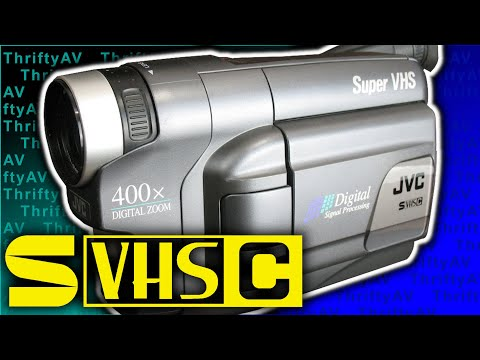 How Super Is The JVC Super VHS-C Camcorder?