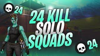 Sub Session Recap 24 Kill Solo Solo Squad !!  (MUST WATCH TILL END) Fortnite BR