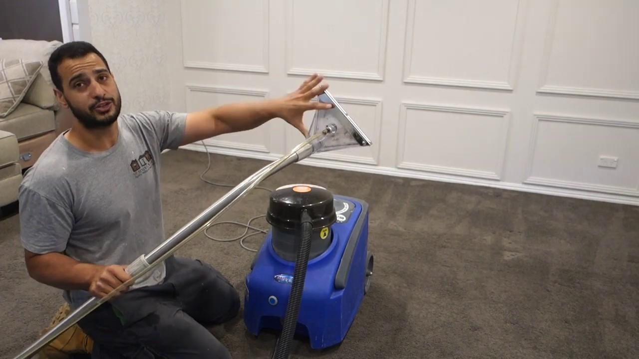 DIY carpet cleaning machine - How to